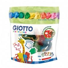 Acessorios Modelagem Giotto Patplume Blister 16un + 1 rolo