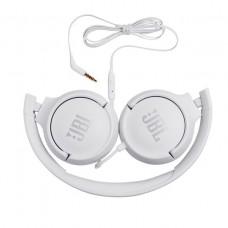 Auriculares JBL T500 Branco
