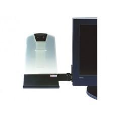 Atril para monitor lcd e ctr 3m para documentos standard formato 255 x 81 x 293 mm
