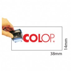 Carimbo 14x38mm Autotintavel Colop Mod P20