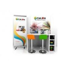 MESA DE TRABALHO 3D COLIDO RINCON INCLUI IMPRESSORAS 3D 2.0 PLUS / COMPACT ACESSORIOS E 2 BANCOS 160X80X90 CM