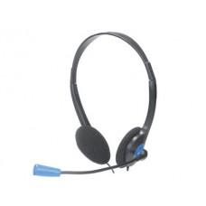 AURICULAR NGS HEADSET MS103 COM MICROFONE E CONTROLO VOLUME COR PRETO