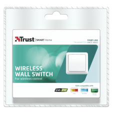 Interruptor sem fios de parede Trust Smart Home (Start-Line AWST-8800)
