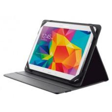 """Bolsa trust primo folio universal para tablets 10"""" com suporte e fecho elastico cor preto"""