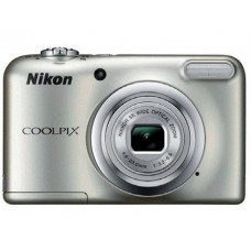 CAMARA DIGITAL NIKON COOLPIX A10 PRATA 16.1 MPX ZOOM OTICO 5X GRAVA VIDEO HD 720P BATERIA DE LITIO COM BOLSA