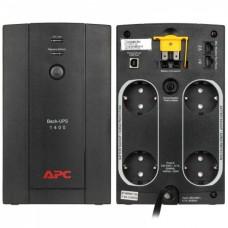 APC BACK-UPS 1400VA, 230V, AVR, Schuko Sockets - BX1400U-GR