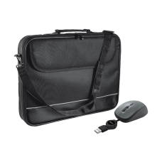 """CARRY BAG FOR 15-16"""" LAPTOPS WITH MOUSE - BLACK"""