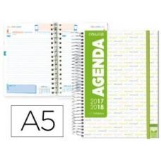 AGENDA ESCOLAR LIDERPAPEL 17-18 COLLEGE DIN-A5
