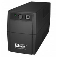 UPS Mustek PowerMust 636EG (650VA), linha Int., Schuko