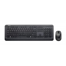 Teclado + Rato Asus Wireless W2000 Black USB