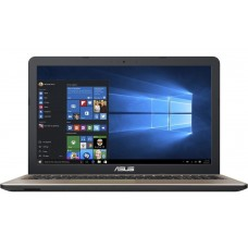 ASUS - X540UB-36D11PB1 INTEL I3-6006U 4GB 500GB HDD 15,6PPHD ULTRASLIM GF MX110 2GB WIN10 PRETO
