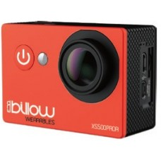 Action Cam BILLOW 4K Interpolada, WIFI, 170º c/ acessórios, Red - XS550PROR