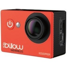 Action Cam BILLOW Real 4K, WIFI, 170º c/ acessórios, Red - XS600PROR