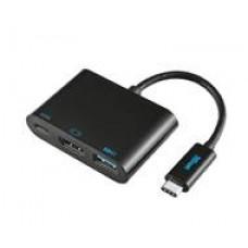 Adaptador TRUST Multiportas USB-C USB3.1 HDMI - 21260