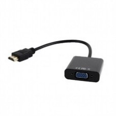 Adaptador EQUIP HDMI - VGA com audio preto – 11903607