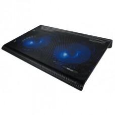 """Base TRUST Azul 2x Ventoinhas Notebooks até 17.3\"""" - 20104"""
