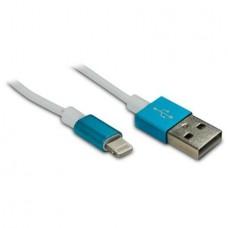 METRONIC - Cabo Lightning/USB Azul 471040
