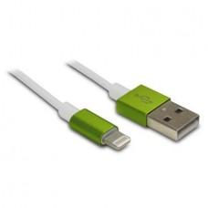 METRONIC - Cabo Lightning/USB Verde 471041