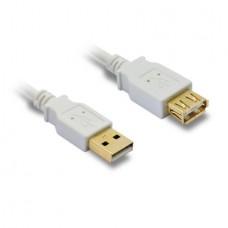 METRONIC - CABO USB 2.0 AA MACHO/FÊMEA 1.8m 495215
