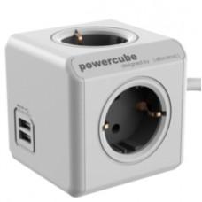 ALLOCACOC - PowerCube 4T+2 USB 3m AL1407