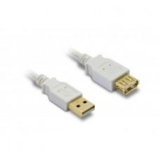 METRONIC - Cabo USB 2.0 AA M/F 1.8m 495215